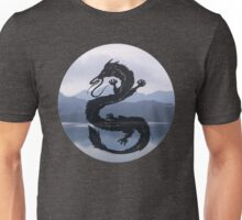 Dragon Haku Spirited Away blue Unisex T-Shirt