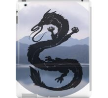 Dragon Haku Spirited Away blue iPad Case/Skin