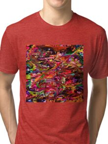 modern composition 34 by rafi talby Tri-blend T-Shirt