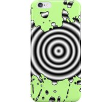 Black and White Splattered iPhone Case/Skin