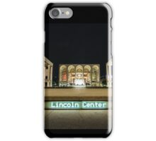 At Lincoln Center Night 2 iPhone Case/Skin