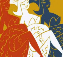 Golden Horseshoe Revue Attraction Poster Sticker