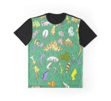 Stay Out of the Tall Grass - Gen 1  Graphic T-Shirt