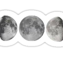 Moon Rotation Sticker