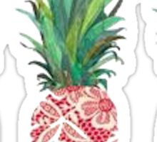Three Pineapples Sticker