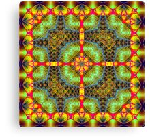 Fractal Interlink No5 Canvas Print