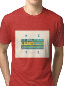 Keyboard Synth Tri-blend T-Shirt