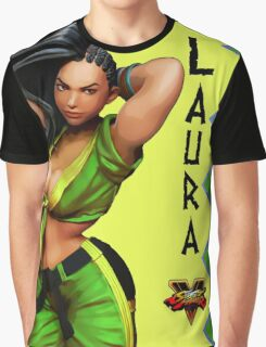 street fighter - laura Graphic T-Shirt