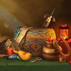 Zelda Still Life by Lizustration