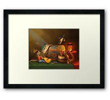 Zelda Still Life Framed Print