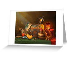 Zelda Still Life Greeting Card