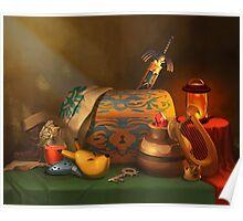 Zelda Still Life Poster