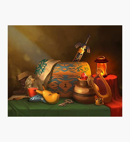 Zelda Still Life Photographic Print