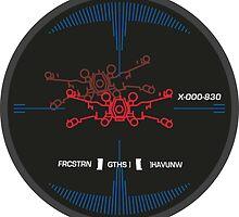 X-Wing Target Lock by MatthewStudios