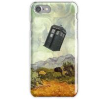 TARDIS In A Wheat Field iPhone Case/Skin
