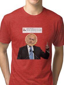 'davey cameron is a pie' Tri-blend T-Shirt