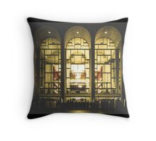 At Lincoln Center Night Throw Pillow