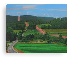 Cross Roads Canvas Print