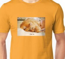I Miss You, Maine Coon Cat Unisex T-Shirt