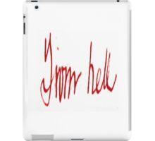 Jack the Ripper iPad Case/Skin