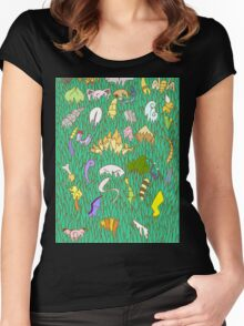 Stay Out of the Tall Grass - Gen 1  Women's Fitted Scoop T-Shirt