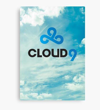 Cloud 9 - C9 - League of Legends Canvas Print