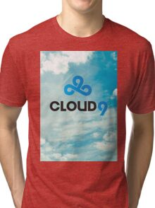 Cloud 9 - C9 - League of Legends Tri-blend T-Shirt