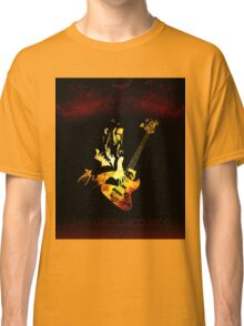 Jaco Pastorius Flame Classic T-Shirt