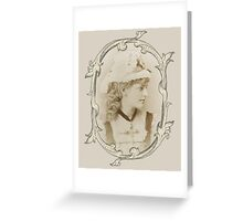 Miss Violet Cameron Greeting Card