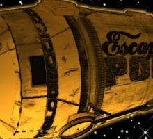 theLogBook.com Escape Pod Sticker