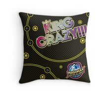 KING CRAZY!!! Persona 4: Dancing All Night Throw Pillow