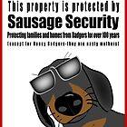 Warning: Sausage Security by Diana-Lee Saville