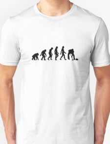 The Evolution of Curling T-Shirt