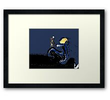 Nightmare on Venom Framed Print