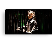 Davros creator of the Daleks Canvas Print
