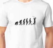 The Evolution of Golf Unisex T-Shirt