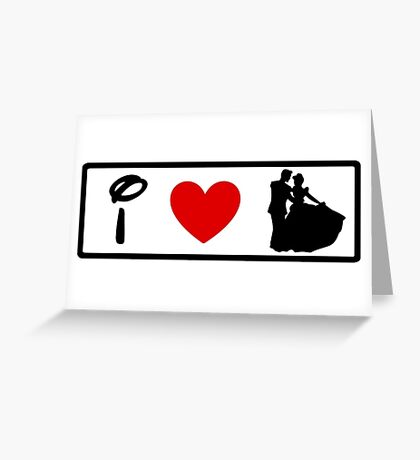 I Heart Happily Ever After (Classic Logo) Greeting Card