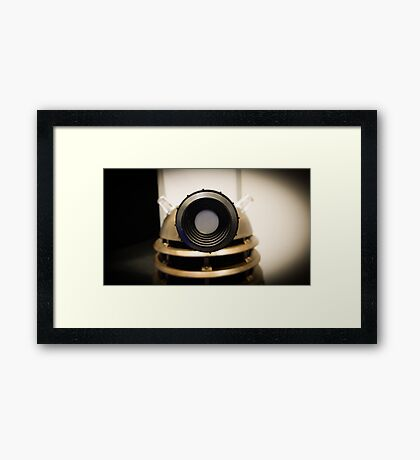 Eyestalk - Dalek Framed Print