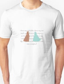 like i know my own mind - hamilton T-Shirt