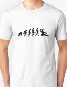 The Evolution of Martial Arts T-Shirt