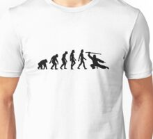 The Evolution of Martial Arts Unisex T-Shirt