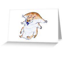 Water-bear Greeting Card