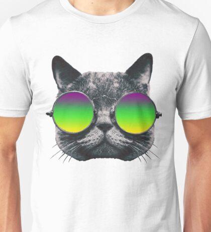 Mardi Gras Cat Unisex T-Shirt