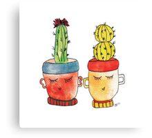 Cacti Couplet | Emma  Canvas Print