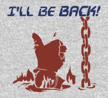 Quotes and quips - I'll be back One Piece - Long Sleeve