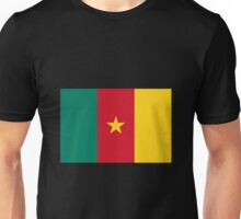 Green Red and Gold Flag of Cameroon with Star Unisex T-Shirt