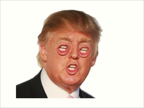 Donald Trump Natural Skin Color