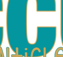 Coastal Carolina University Sticker
