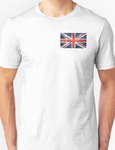 Faded British Flag Unisex T-Shirt