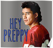 Hey Preppy Poster